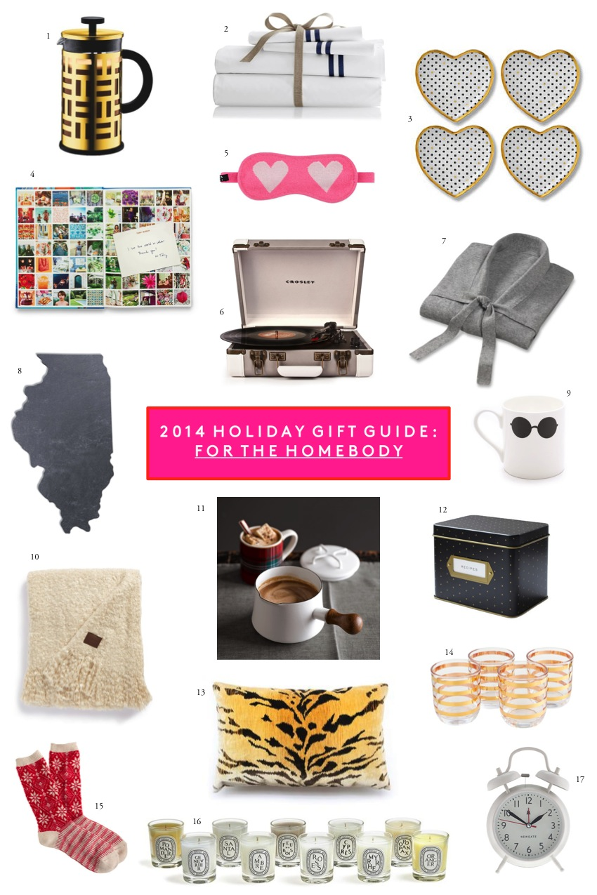 2014 Holiday Gift Guide For The Homebody - www.sequinsandstripes.com
