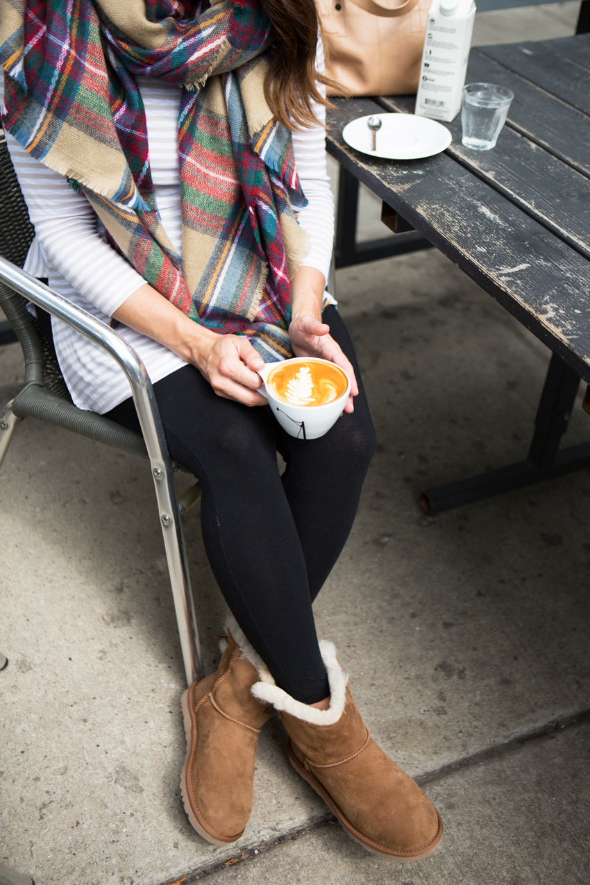 first day of fall with UGG australia