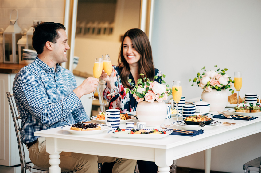 A New York inspired brunch with kate spade new york