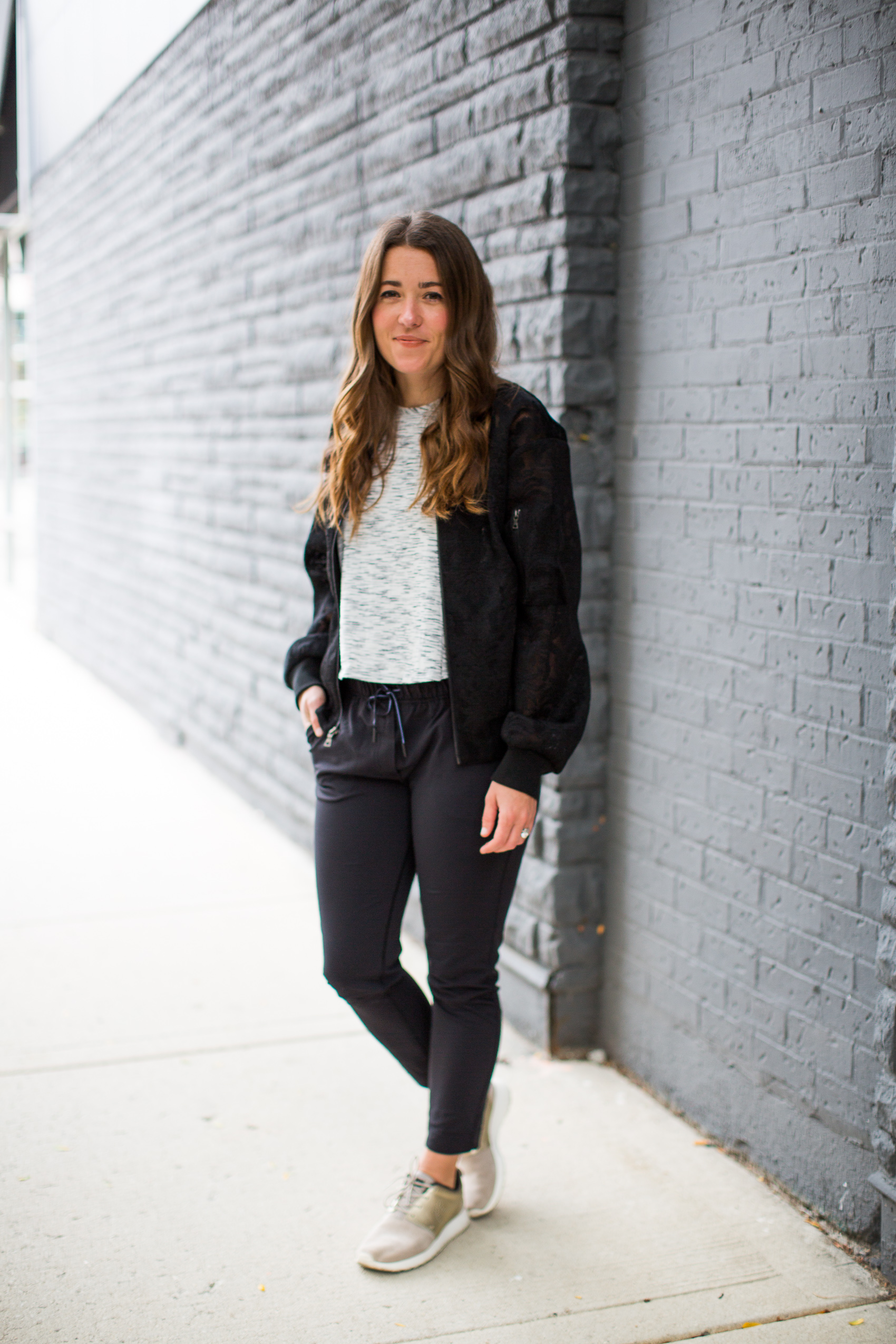 stylish athleisure with Who What Wear