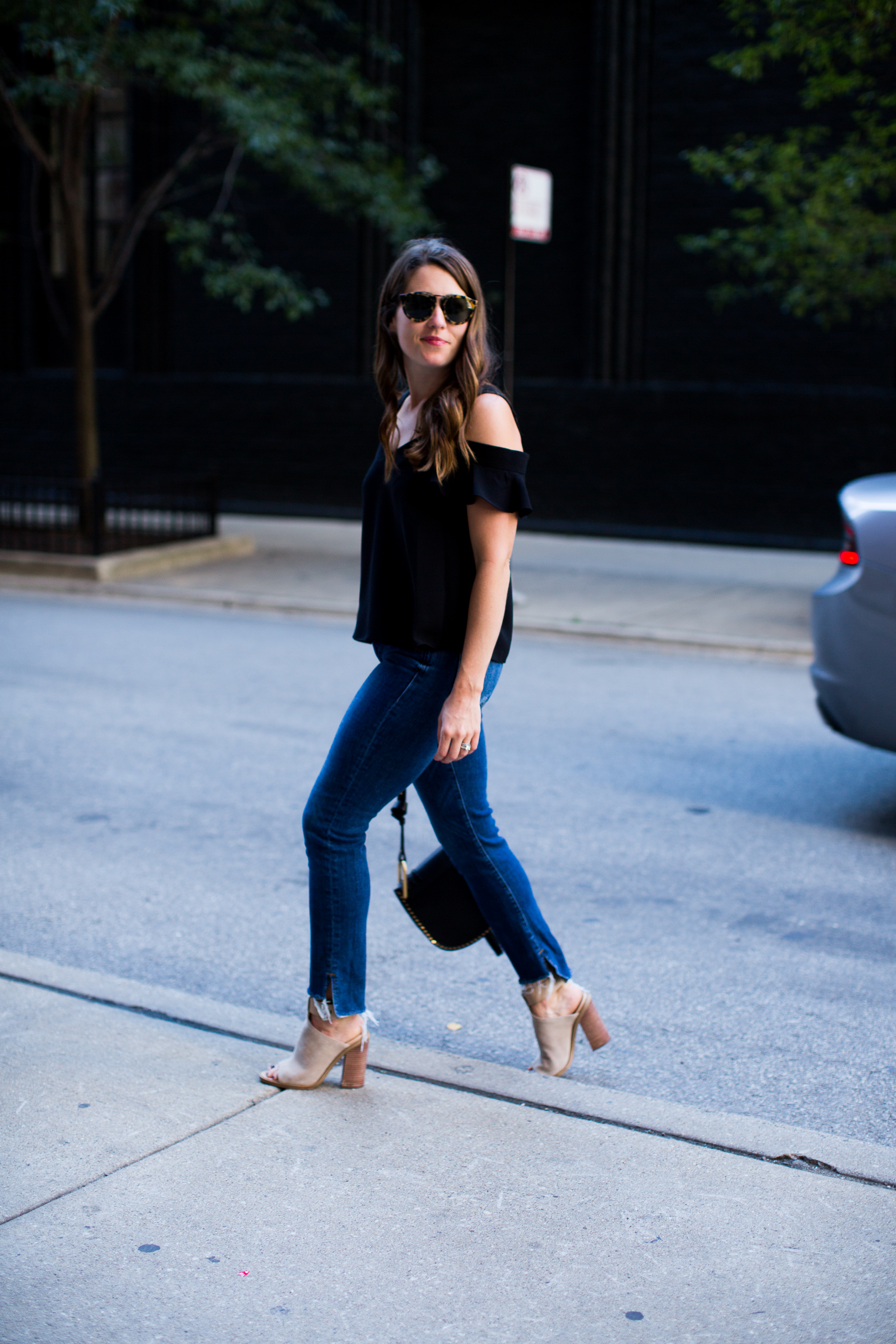 Chicago fashion blogger styles items for fall from Nordstrom