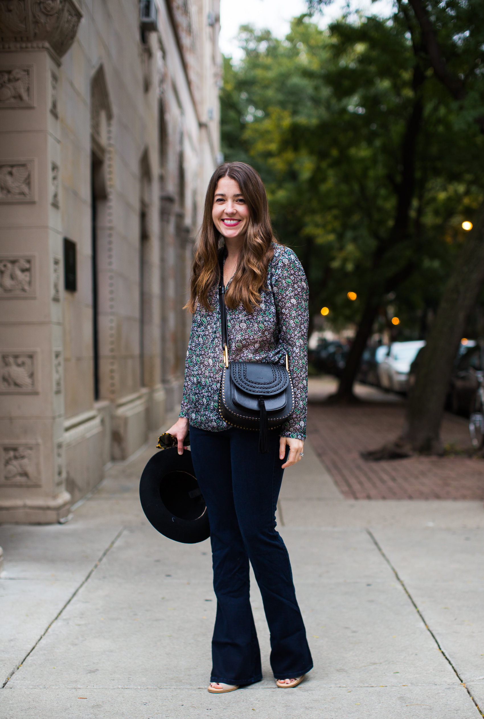 boho fall style from Liz Adams Chicago fashion blogger