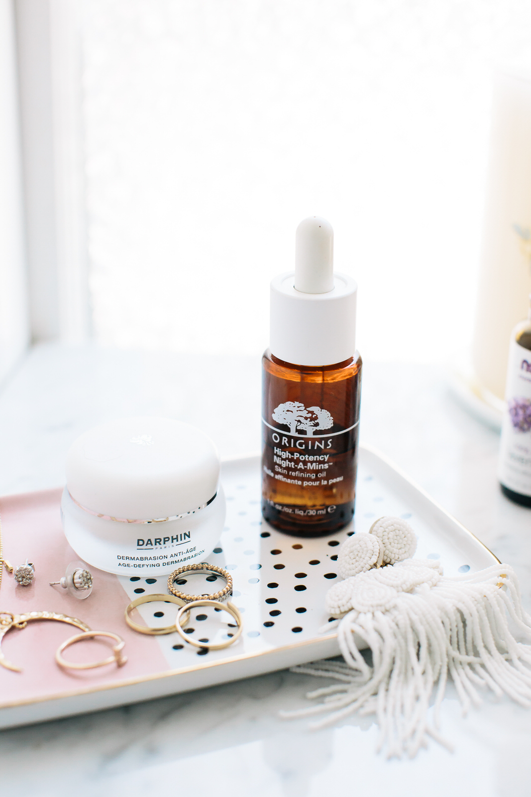 Liz Adams of Sequins & Stripes shares her go-to beauty products for healthy skincare.