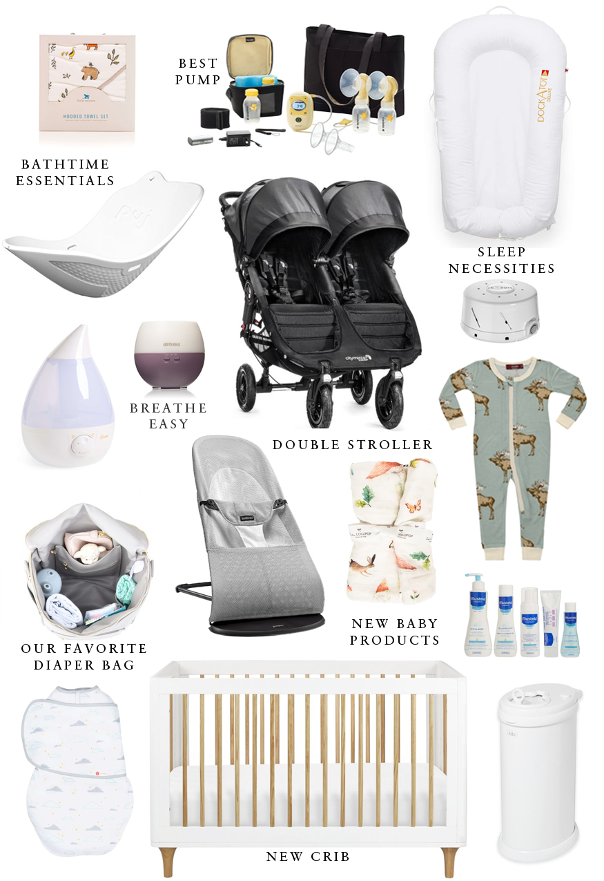 Liz Adams of Sequins & Stripes shares what we are buying for baby #2