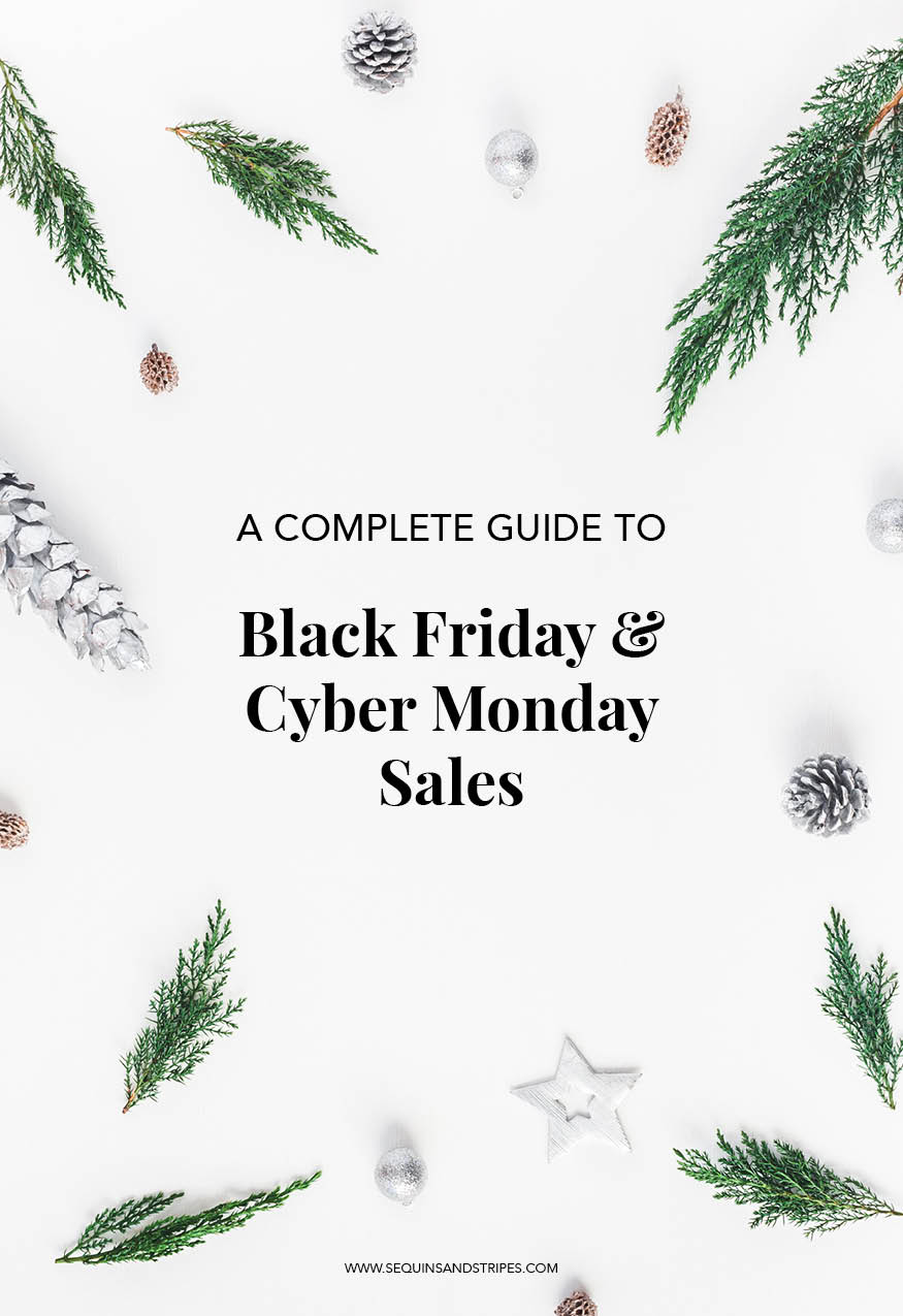 A complete guide to the best Black Friday and Cyber Monday Sales