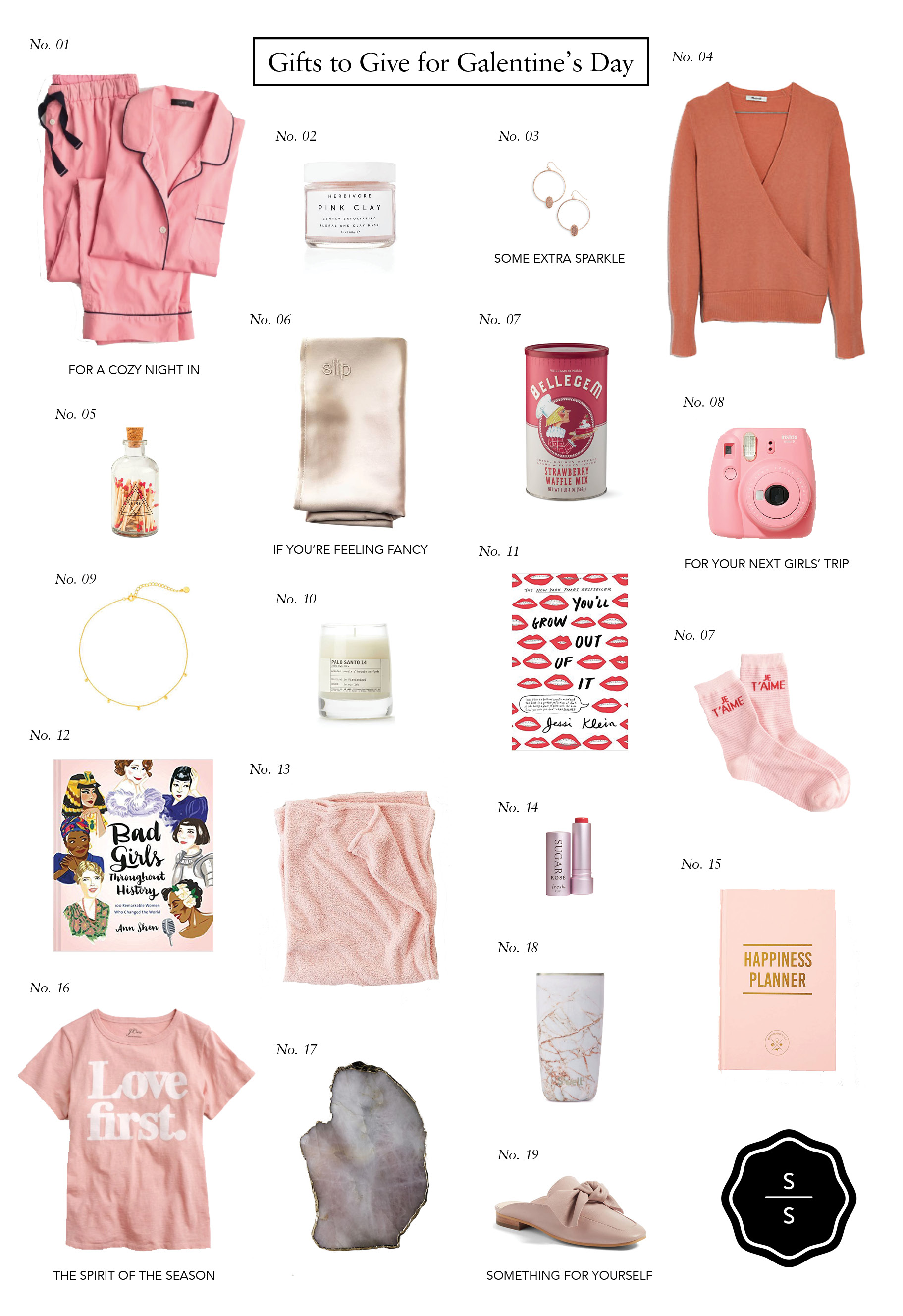 Liz Adams of Sequins & Stripes shares the best gifts to give for Galentine's Day under $100