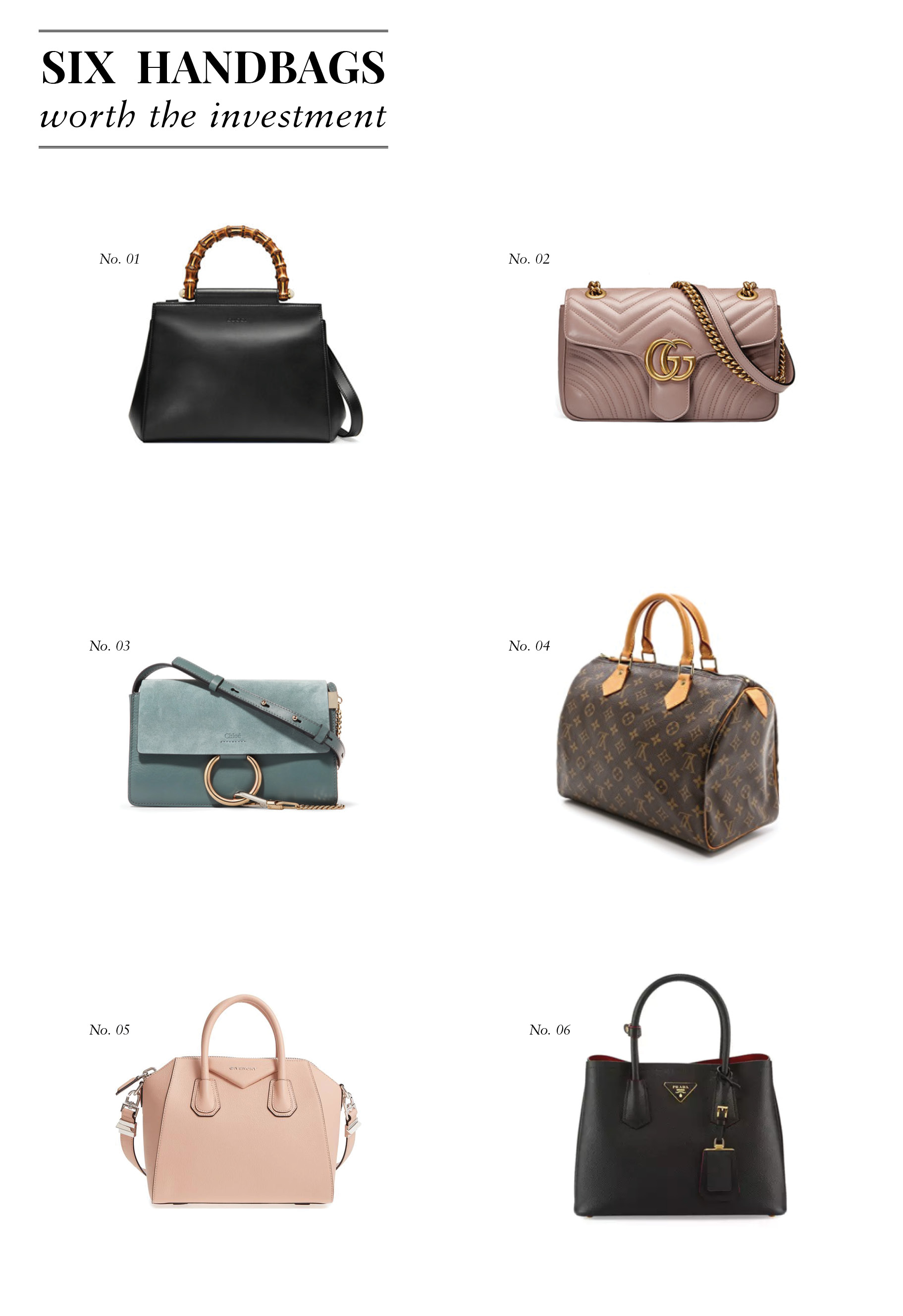 Liz Adams of Sequins & Stripes shares her favorite designer handbags that are more than worth the investment!