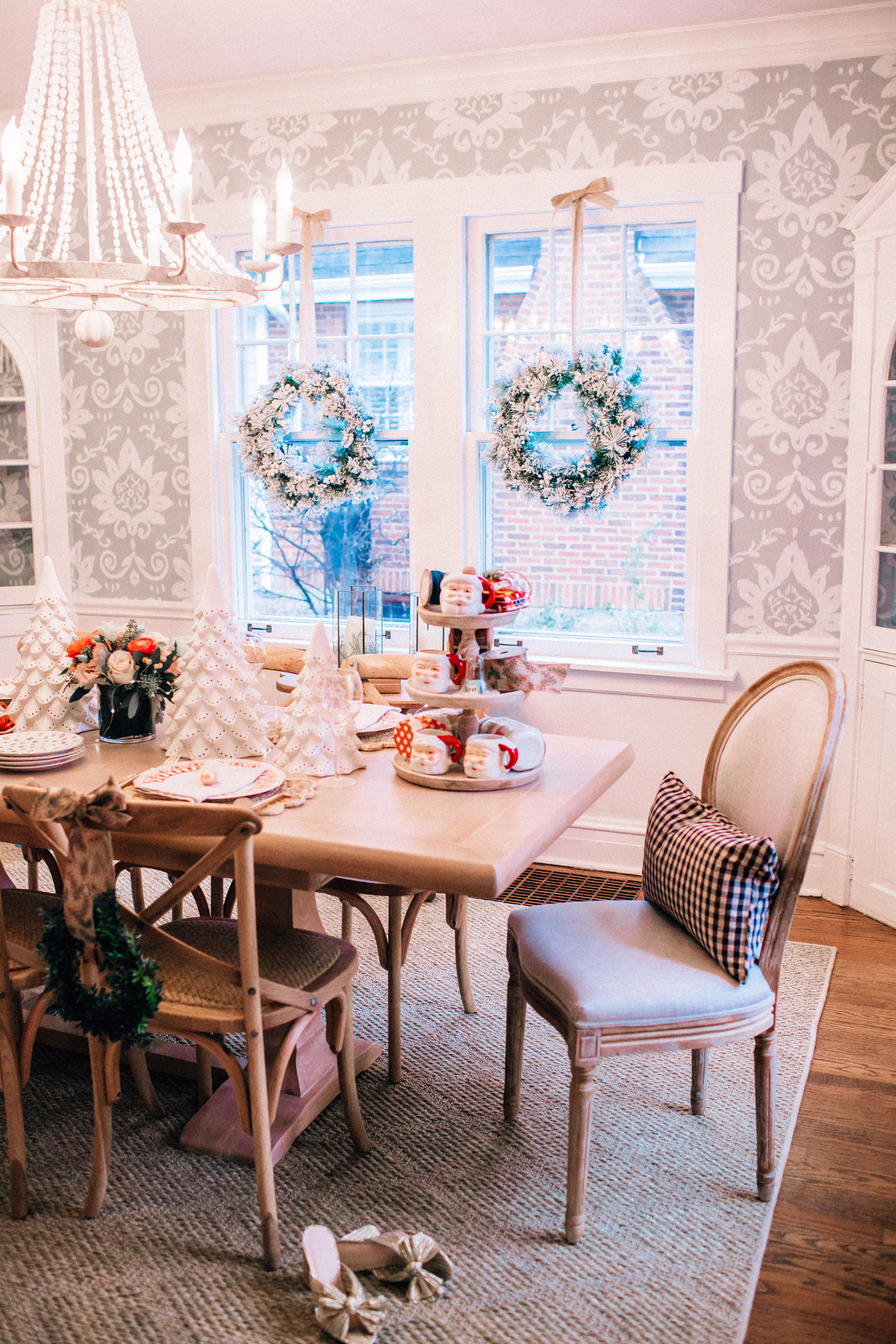 Our Dining Room Makeover With Ballard Designs Hello Adams Family