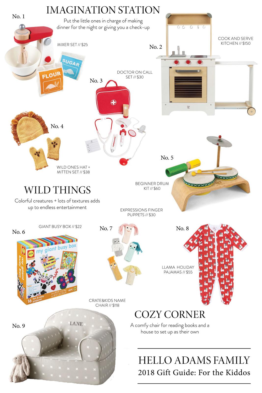 Gift Guide: For Kiddos