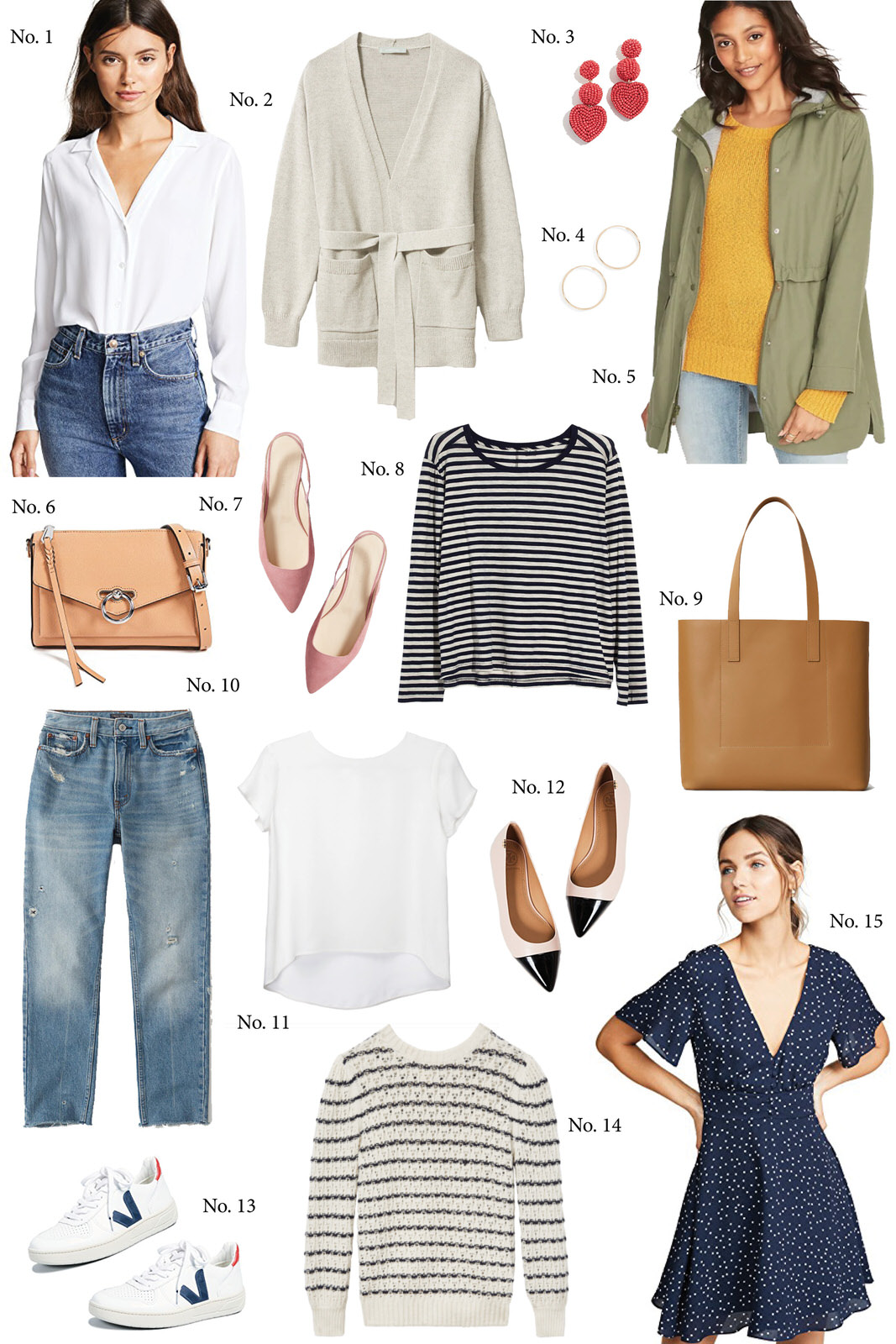 Spring Style Shopping Guide + How to Wear Each Item — Hello Adams